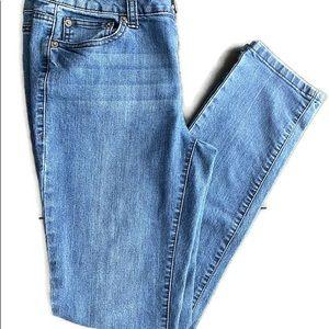 DKNY Skinny high waist jean. Sz 6